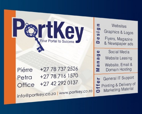 PortKey Solutions Business Card